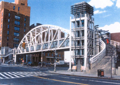 Tribeca Pedestrian Bridge and Plaza