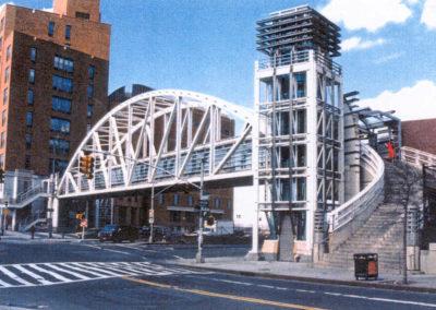 Tribeca Pedestrian Bridge and Plaza