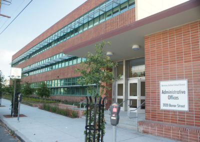 Berkeley Unified School District Modernization Program