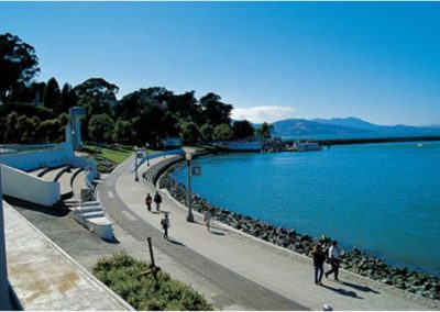 San Francisco Aquatic Park Promenade