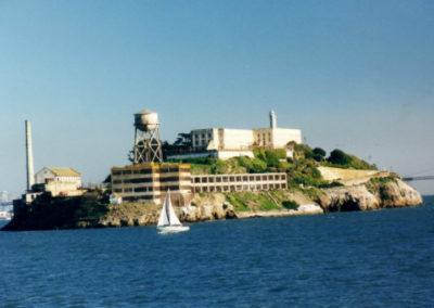 Alcatraz Barracks, Warden's House and Powerhouse