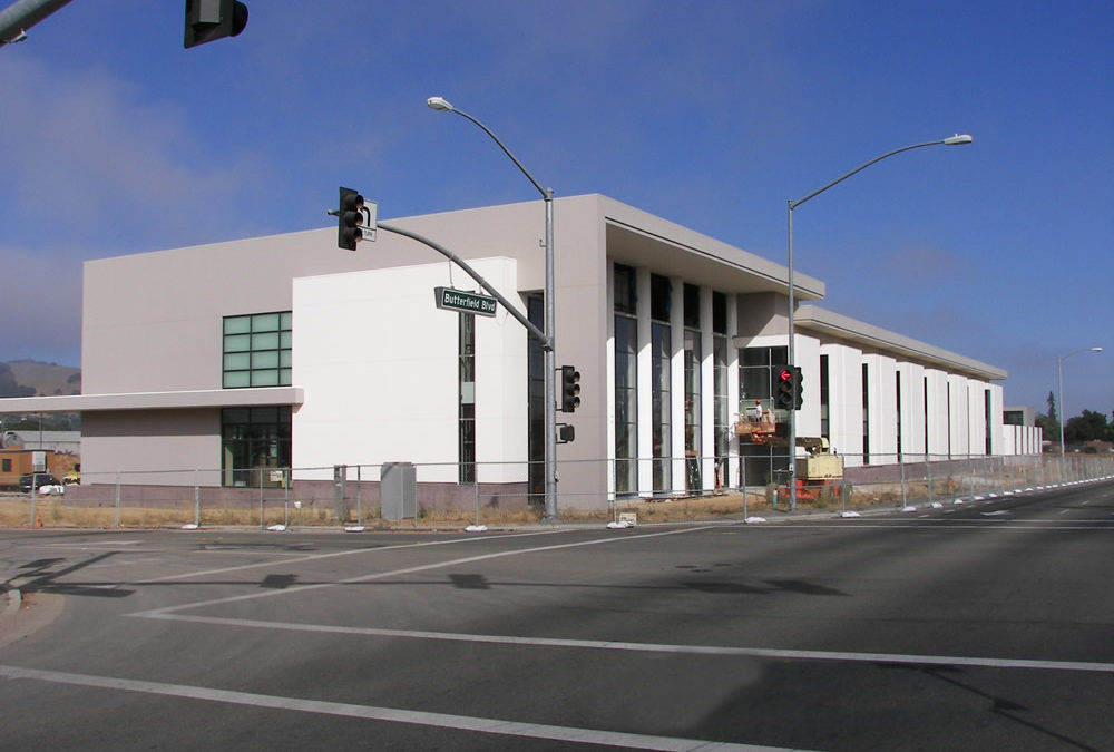 New Morgan Hill Courthouse & Justice Agencies Building