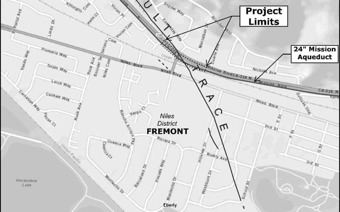 "City of Hayward Mission 24"" Aqueduct Seismic Improvement"